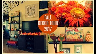 Fall Decor Tour 2017 | Cozy Rustic Theme | Summer Whitfield