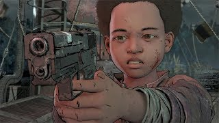 "Shoot or Spare Lilly - Episode 3 Ending Options /""Broken Toys""/ The Walking Dead: The Final Season"