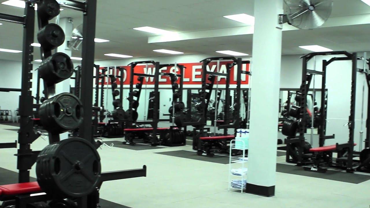 Edwards gym weight room youtube