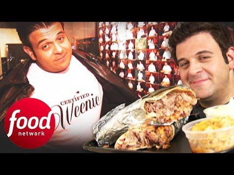 Will Adam Finally Win A Burrito Challenge? | Man V Food