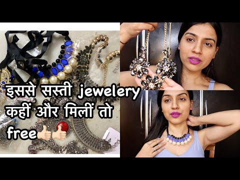 Orna Factory Jewelry Haul | Cheapest Online Jewellery in India | Nidhi Chaudhary