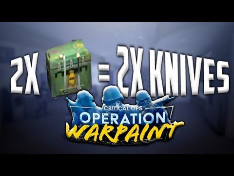 2X WARPAINT CASE = 2X KOSA ?¿ 🤔   Critical Ops