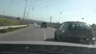 מרדף אחרי רכב גנוב מכפר קאסם לעזון עטמה (מייק בר)