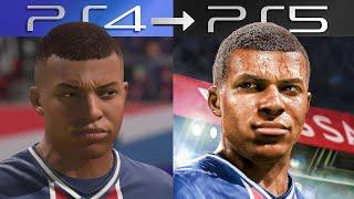FIFA en PS5 vs PS4