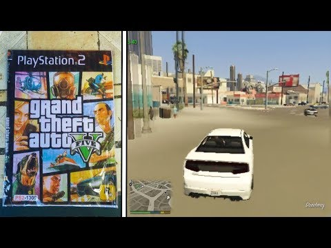 How would you see GTA 5 on PS2?