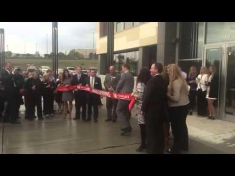 Nebraska Realty Building Ribbon Cutting