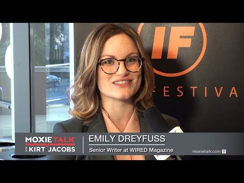 Episode 223. Emily Dreyfuss – Senior Writer, WIRED Magazine - MoxieTalk with Kirt Jacobs