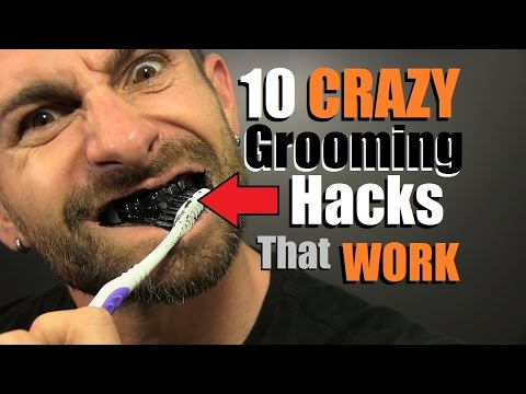 10 CRAZY Grooming Hacks EVERY Guy Should Know!