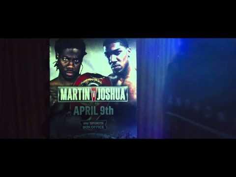Sky Sports box office boxing - Joshua vs Martin