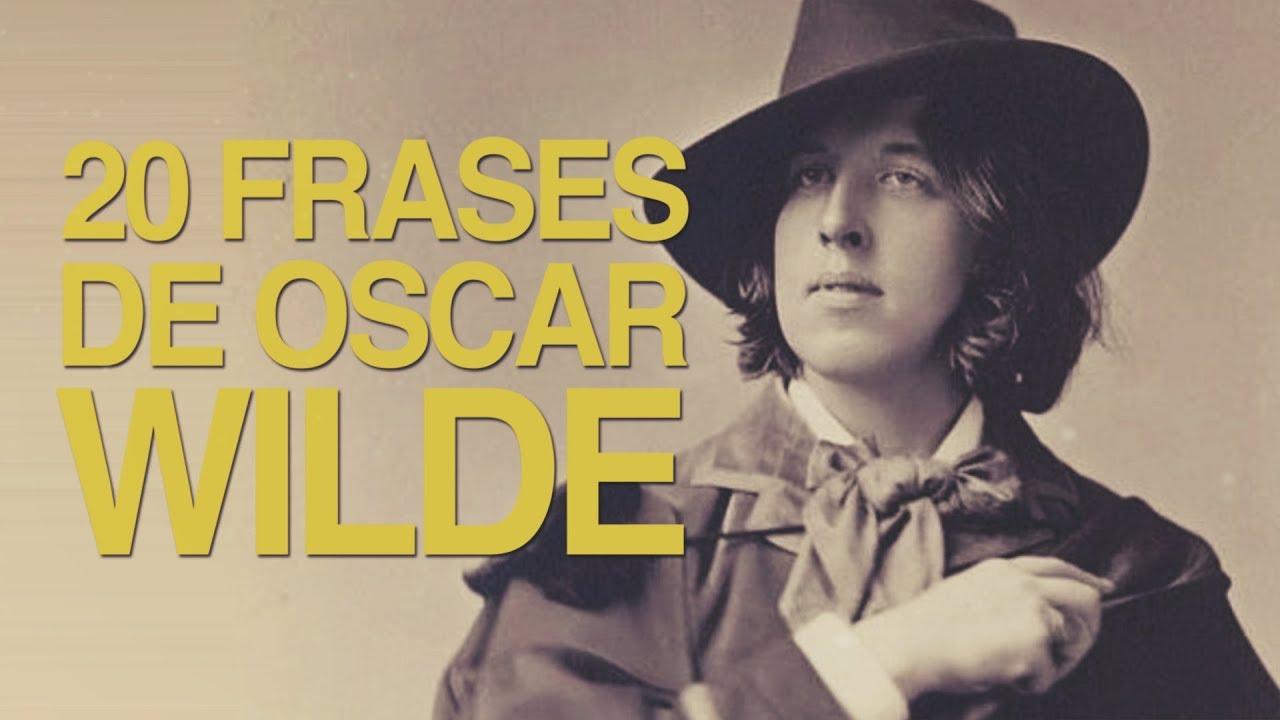 20 Frases De Oscar Wilde La Controversia De La Excentricidad
