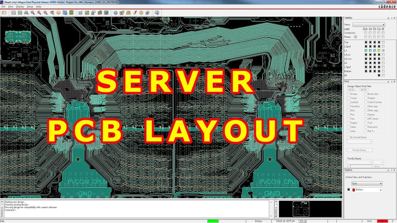 review of server pcb layout & schematic - part 1: processor