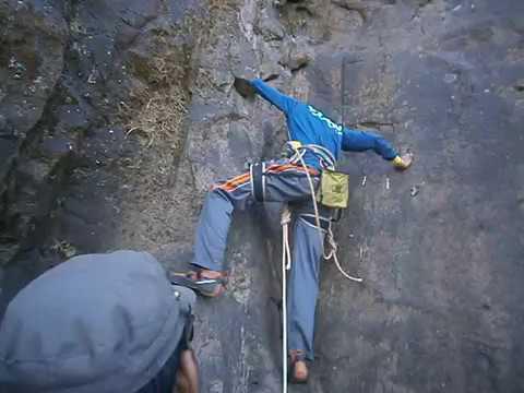 Alang Fort Climb by Rajesh Jadhav - AMK Trek on 21st - 23rd Oct 2016