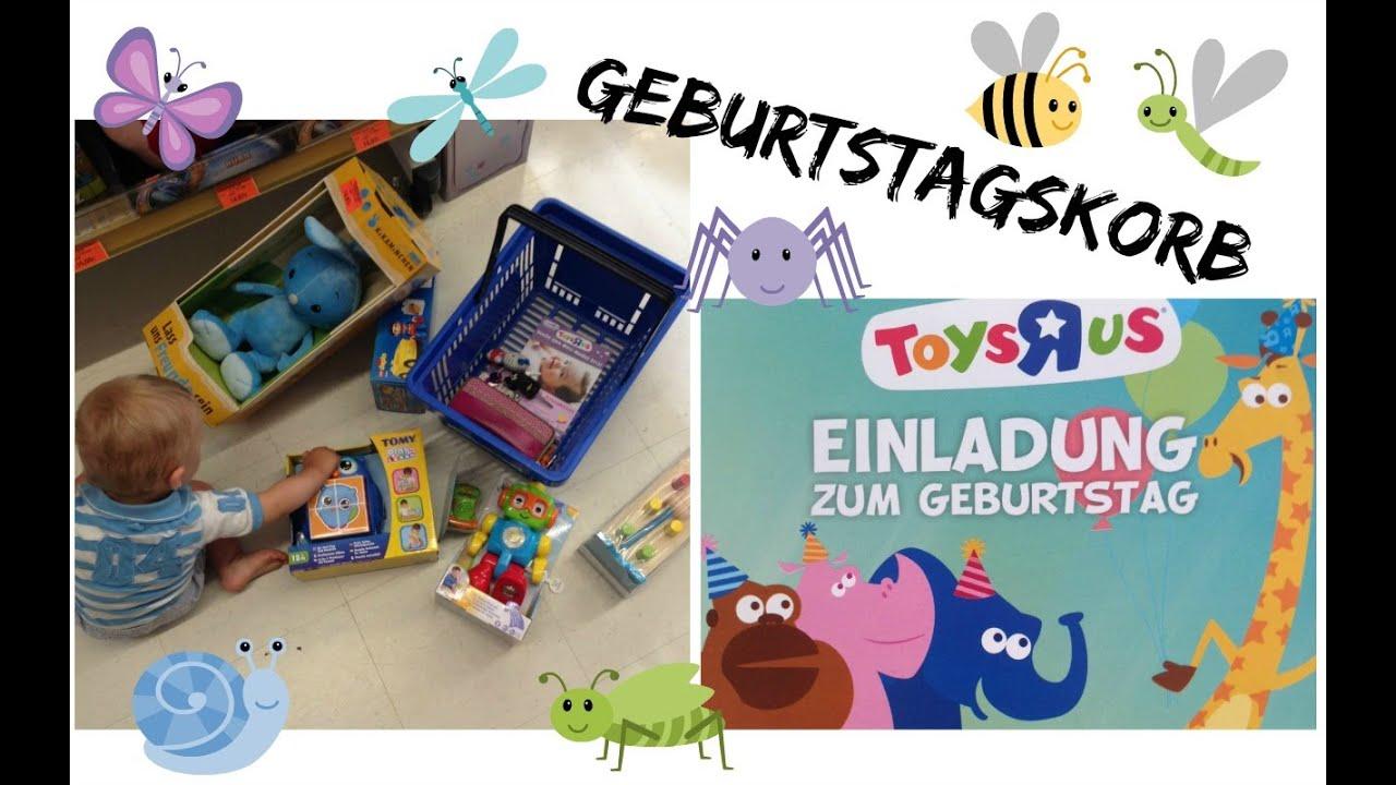 Toys R Us Geburtstagskorb
