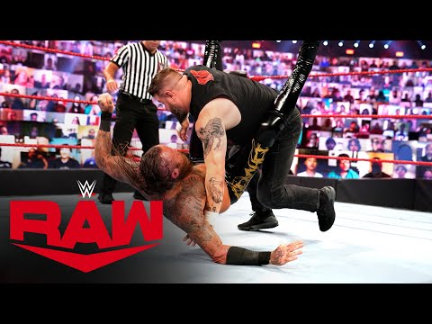Kevin Owens vs. Aleister Black – No Disqualification Match: Raw, Oct. 12, 2020