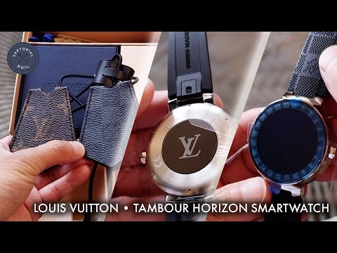 35b8a8bf6958 Louis Vuitton Tambour Horizon 42 Smartwatch Unboxing  Part One - YouTube