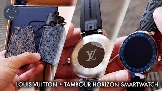 Louis Vuitton Tambour Horizon 42 Smartwatch Unboxing: Part One