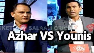 #SalaamCricket18: Mohd Azharuddin & Younis Khan On India-Pakistan Superhit Mukabla | #IndvPak