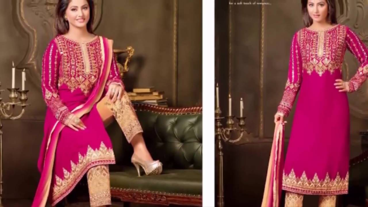 Latest Fashion In India Velvet Designer Suits Collection 2016 Latest Indian Fashion Collection Youtube