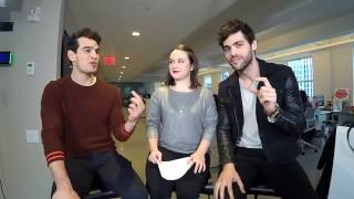 Shadowhunters Alberto Rosende & Matt Daddario interview w Hollywood Life