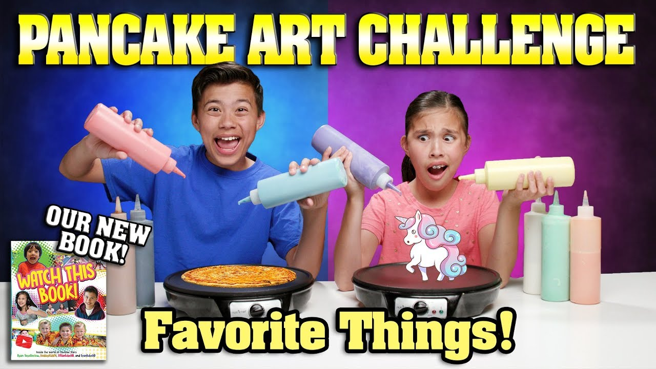FAVORITE THINGS PANCAKE CHALLENGE!!! Special Announcement: Check Out Our NEW BOOK!
