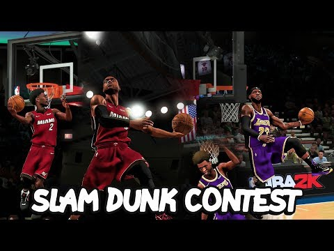 LeBron Family vs Wade Family in a 2v2 DUNK CONTEST!! NBA 2K20 Challenge