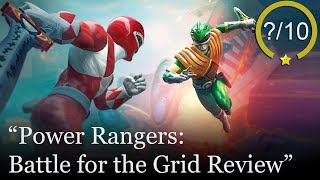 Power Rangers: Battle for the Grid Review [PS4, Switch, Xbox One, & PC] (Video Game Video Review)