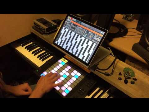 how to make instruments glide ableton