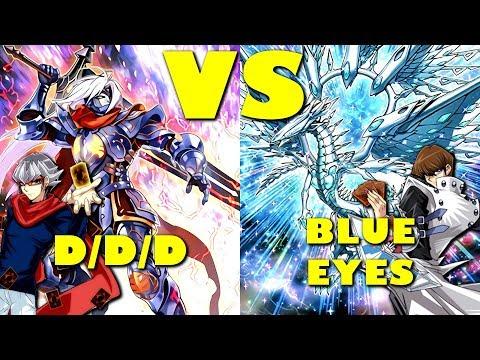 Real Life Yugioh - D/D/D vs BLUE EYES | October 2017 Scrub League