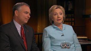 "Hillary Clinton talks honesty on ""60 Minutes"""