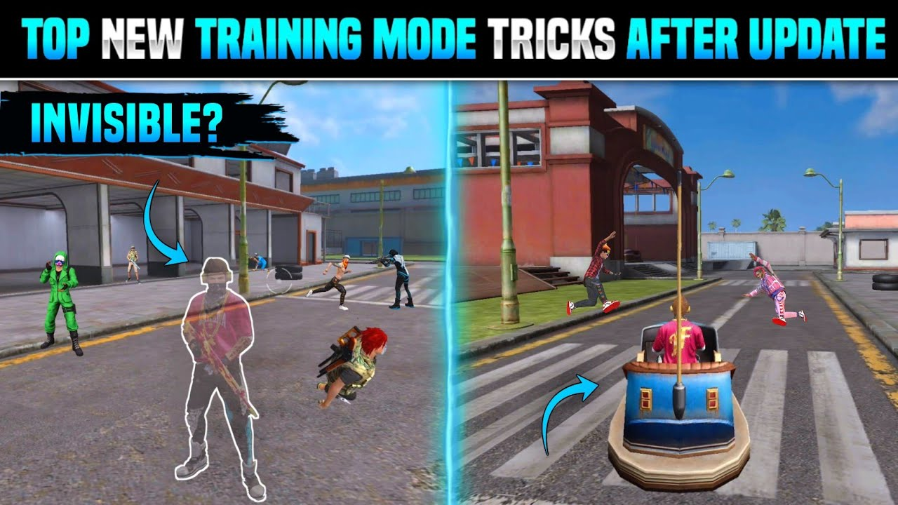 Download FREE FIRE NEW TRICKS IN TRAINING MODE AFTER UPDATE | TOP 5 NEW TRICKS IN TRAINING MODE FREE FIRE
