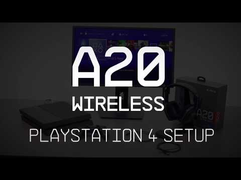 A20 Gaming Headset PS4 Setup Guide || ASTRO Gaming