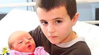 【衝撃】最年少で親になった子供たち5選 thumbnail