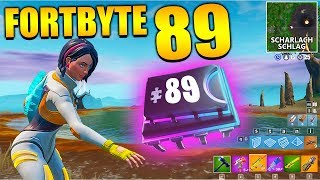 Fortnite Fortbyte 89 🧣 Scarlet Stroke | All Fortbyte Places Season 9 Utopia Skin English