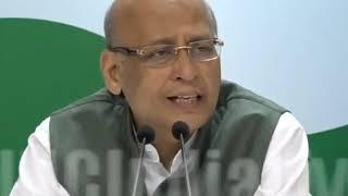 Highlights: AICC Press Briefing By Abhishek Manu Singhvi on Rafale Scam