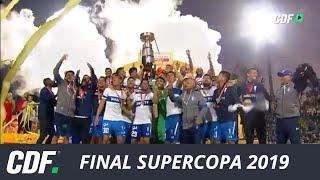Universidad Católica 5 - 0 Palestino | Final Supercopa Easy 2019 | CDF