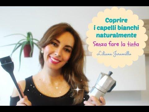 COPRIRE I CAPELLI BIANCHI NATURALMENTE CON caffè - YouTube fb352a565bf3