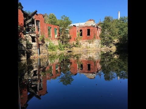 Exploring the Abandoned Cascade Woolen Mill in Oakland, Maine
