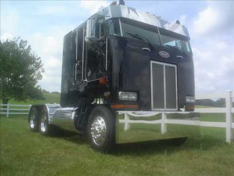 Spectacularly Made Peterbilt 362 COE Cabover Cruising on the