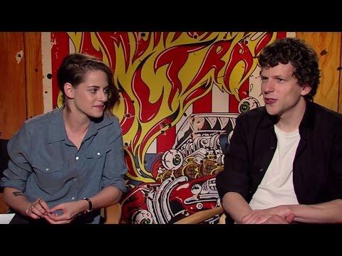 Kristen Stewart & Jesse Eisenberg - American Ultra Interview HD