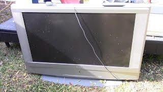 "What's Inside a 50"" Sony Grand Wega rear projection TV"