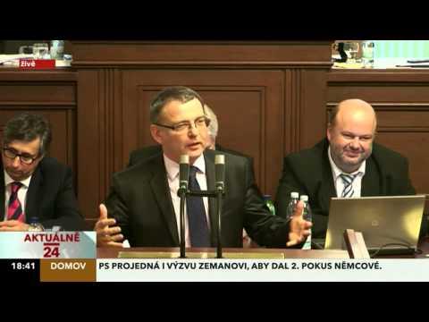 Faktická poznámka - Lubomír Zaorálek 7.8. 2013