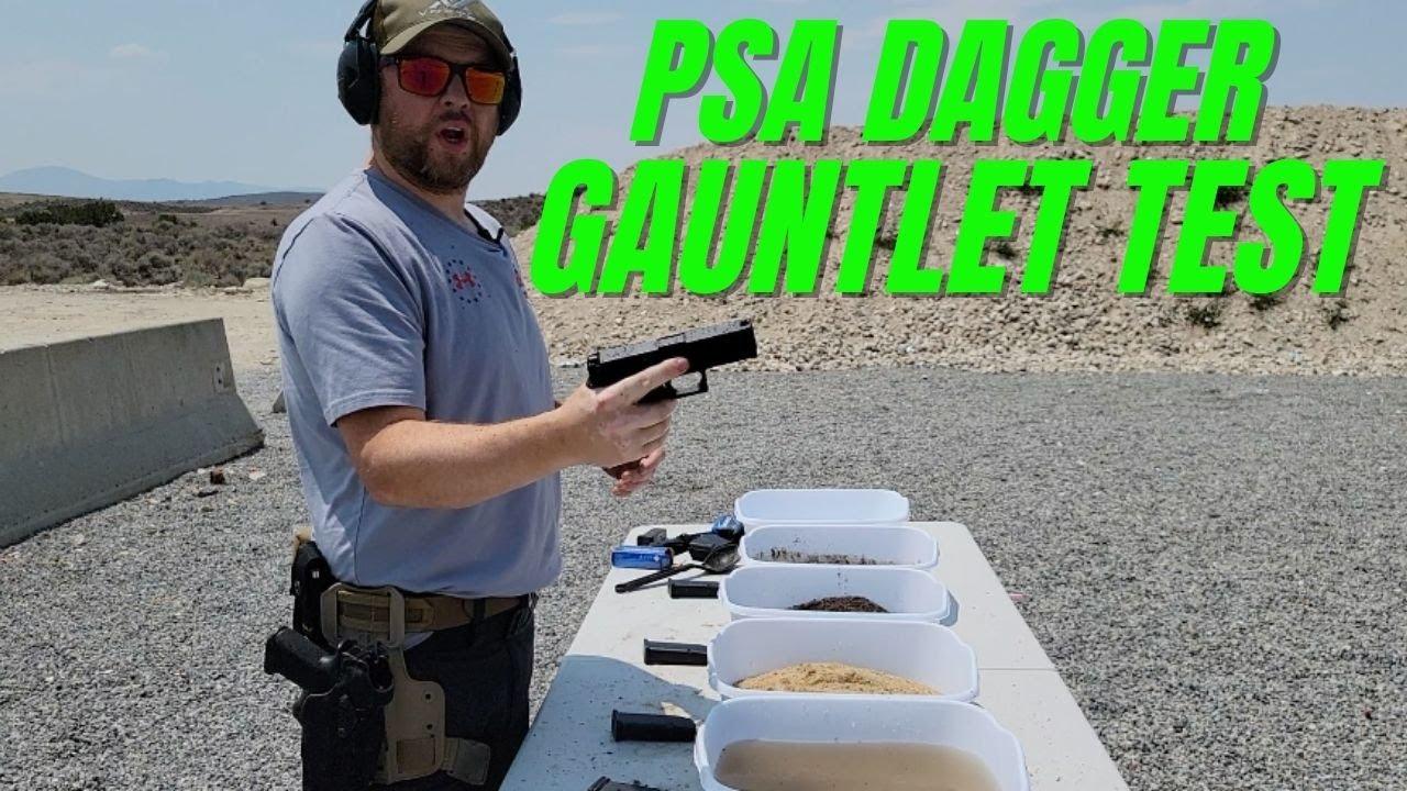 PSA Dagger Gauntlet / Mud Test