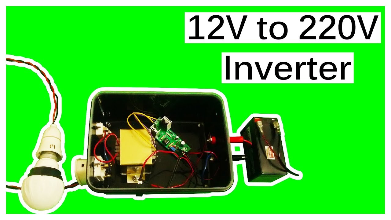 12V to 220V Inverter Using IR2153 With Casing: 4 Steps
