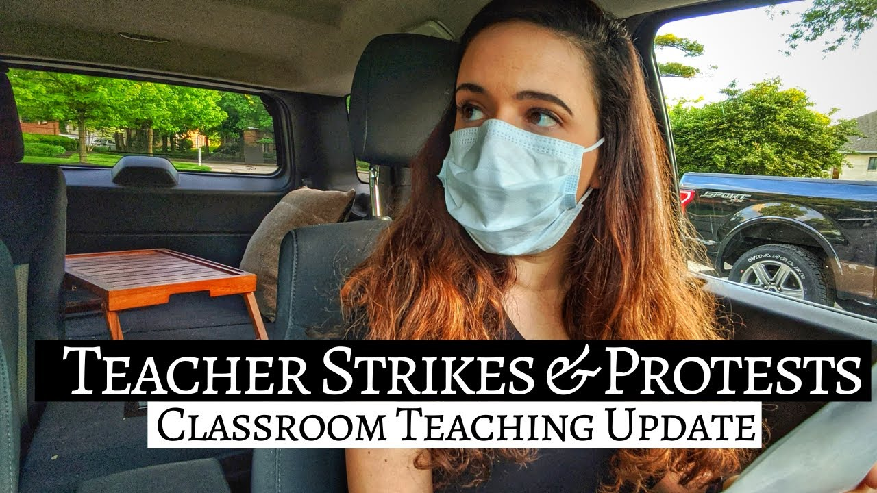 TEACHER STRIKES & PROTESTS (questioning safe return to the classroom) + Packing Up My Music Room