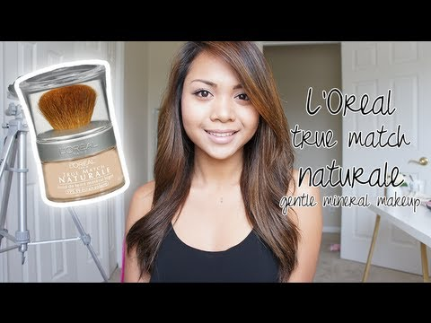 First Impression: L'Oreal True Match Naturale Gentle Mineral Makeup