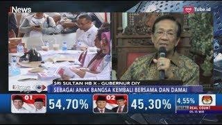 Pesan Damai Sri Sultan Hamengkubuwono X Usai Pemilu 2019 - Inews Pagi 20/04