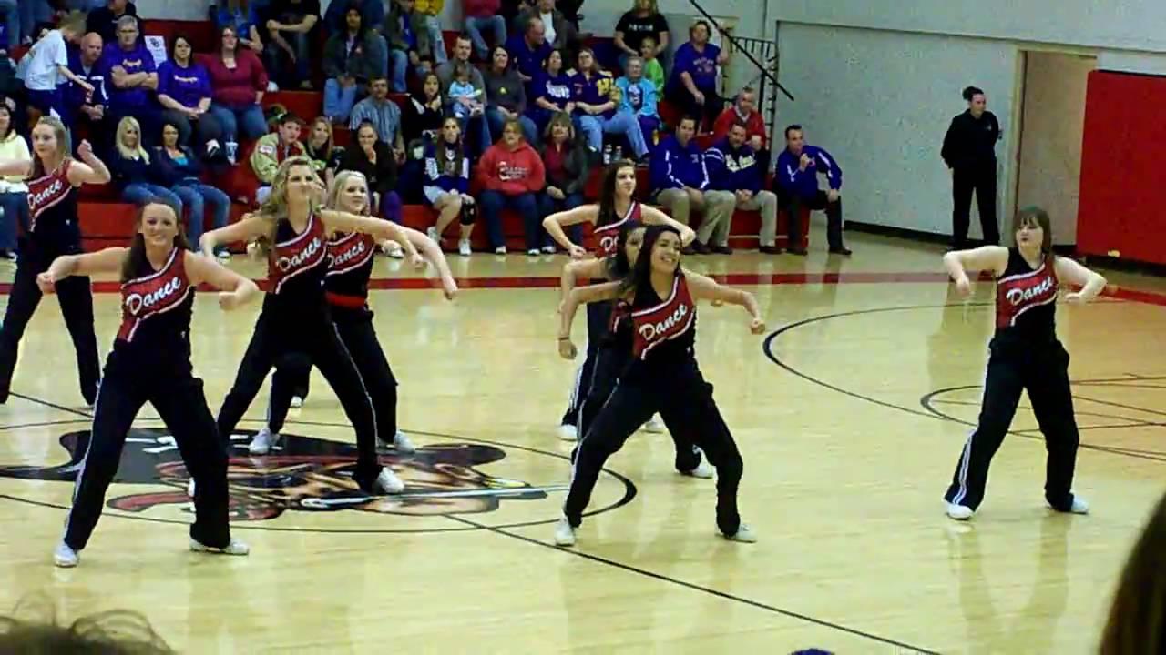 poteau high school dance team - YouTube