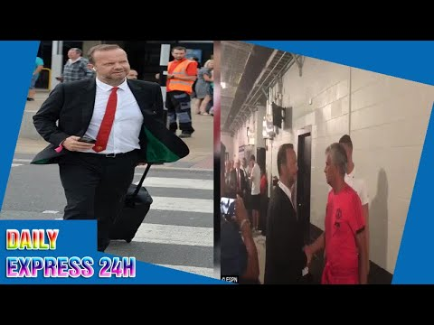 Mourinho and Woodward hold brief chat in awkward tunnel catch-up