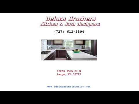 Kitchen Remodeling Largo Florida - Remodeling Contractor F'Deluca Construction