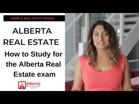 How to Study for the Alberta Real Estate Exam